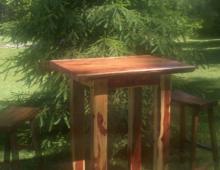 Cedar Pub Table