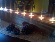 Walnut Tea Lights