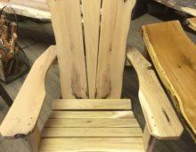 Locust Adirondack Chair – Unfinished