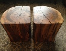 Old Maple Side Tables