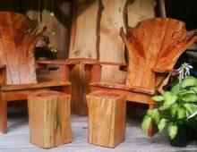 Wild Black Cherry Adirondack Chair