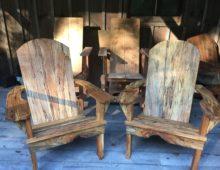 Soft Maple Adirondack Chairs