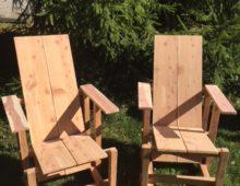 Cedar Wave Hill Chairs