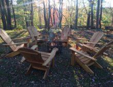 Locust Adirondack Chairs